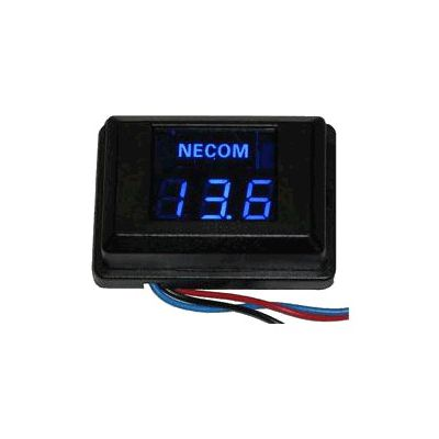 Voltmètre Numérique Necom PF-P12V
